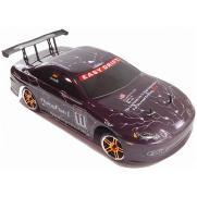 Радиоуправляемый автомобиль для дрифта HSP Flying Fish 1 - 1:10 4WD - 94123PRO-12302 - 2.4G (фиолетовый, 36 см)
